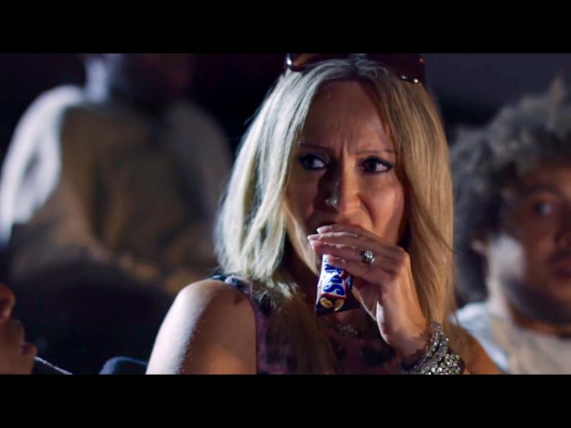 Diva in Snickers~Get Some Nuts! Commercial