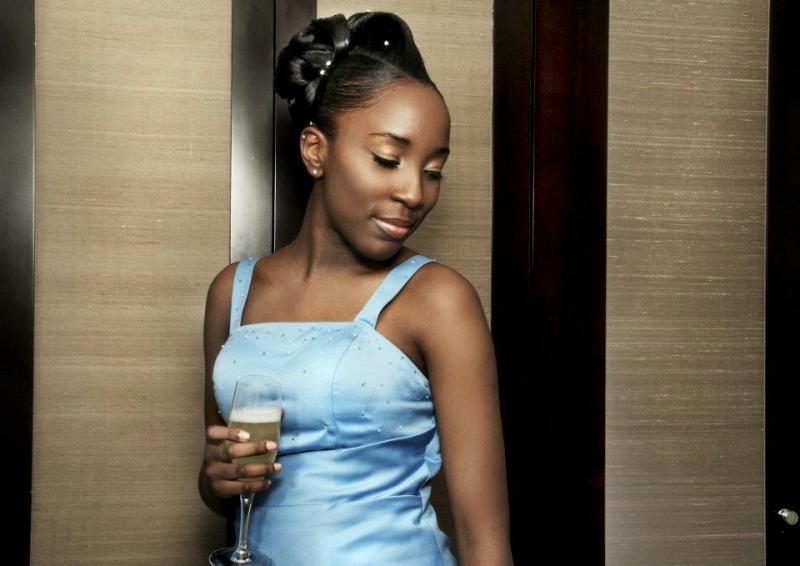 Model shoot Black Hair & Beauty Magazine