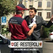 'GE-Respecte' Ad campaign in Geneva
