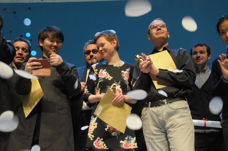Awards Ceremony Clermont-Ferrand International Short Film Festival, 2015