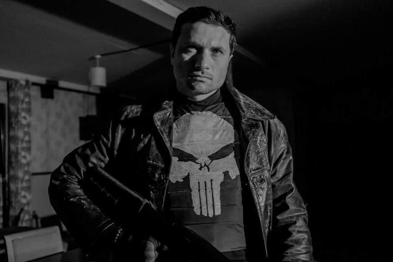The Punisher Dia de los muertos