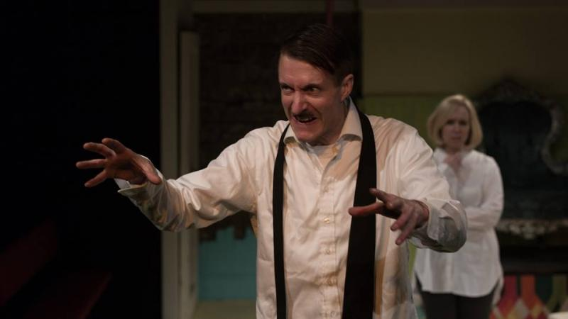 As Adolf Hitler in BIG BROTHER BLITZKRIEG