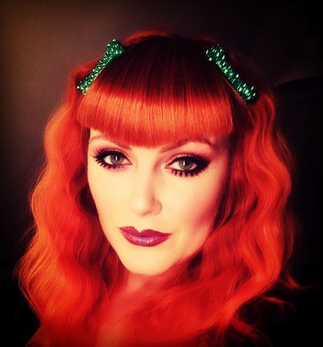 Redhead full face