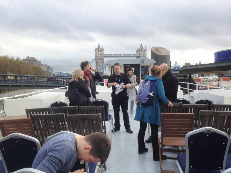 On the Thames (Almeida Odyssey)