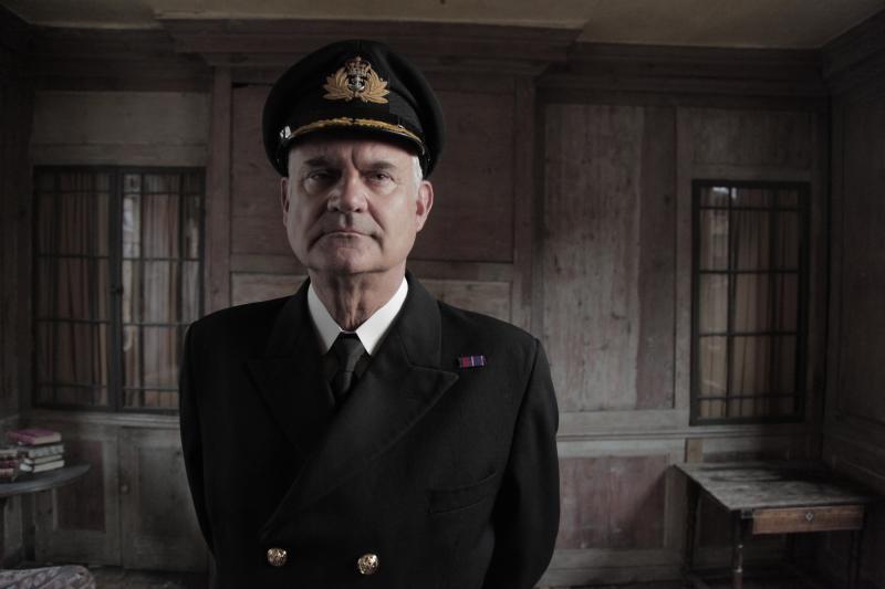 Capt. Bartlett in Titanic's Tragic Twin ( BBC 2 drama-doc )