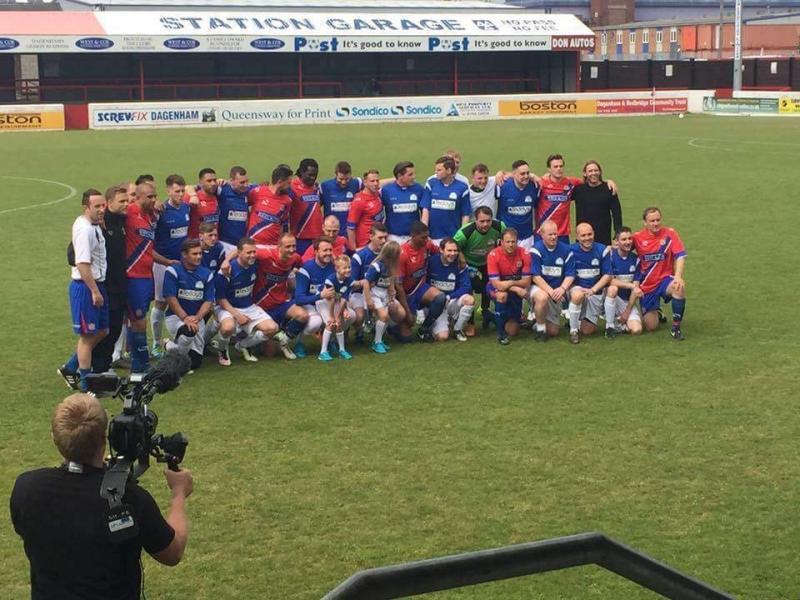 Dagenham and Redbridge charity football match