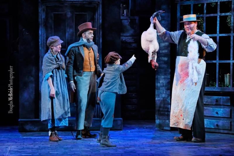 Scrooge! 2016 with Joely Fuge