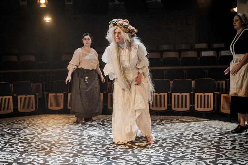 The House of Bernard Alba, Rose Theatre - constructed wedding dress