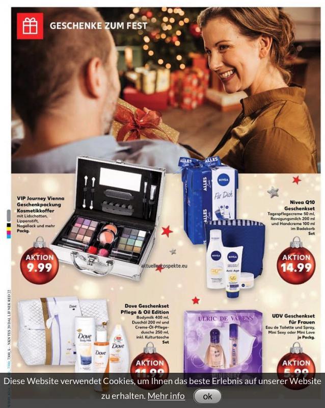 Kaufland Christmas 'Jeder moment ein fest'