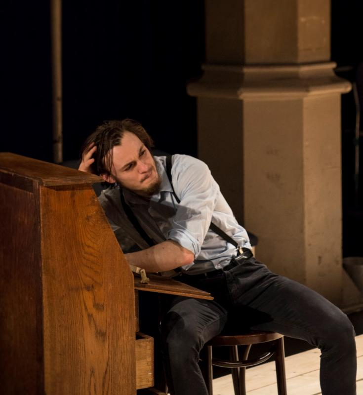 As Constantin Treplev in The Seagull