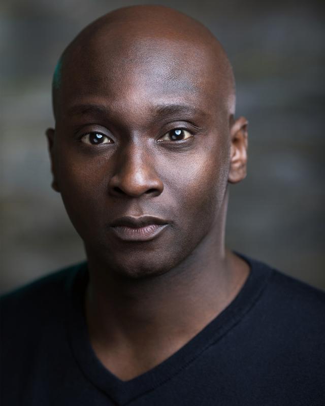 Michael Amariah, actor, London