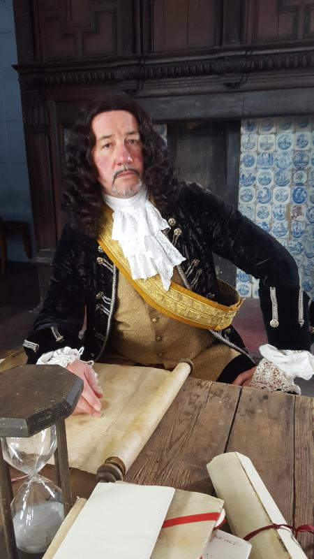 Jim Carey Connell (Dutch Lord Admiral De Ruyter)