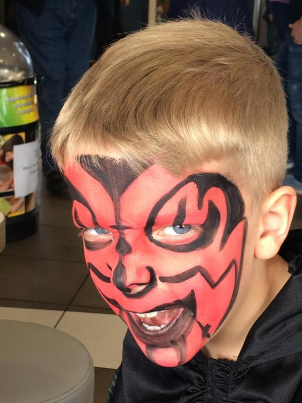 Headshot Darth Maul