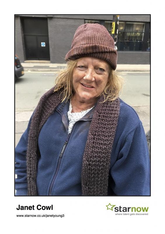 """Corbert"" The old homeless woman"
