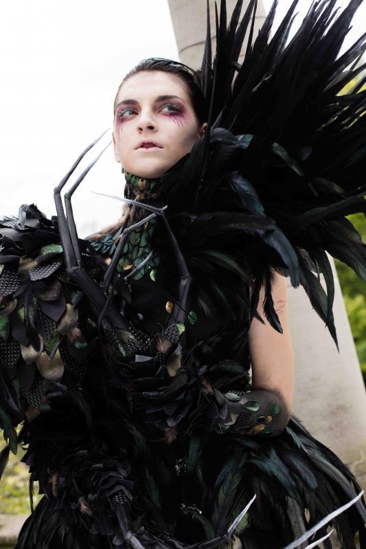 London College of Fashion Shoot - Costume by Sarah Hardwick
