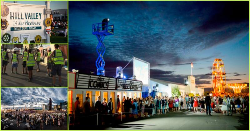 Secret Cinema - Back to the Future: Retail units & set building