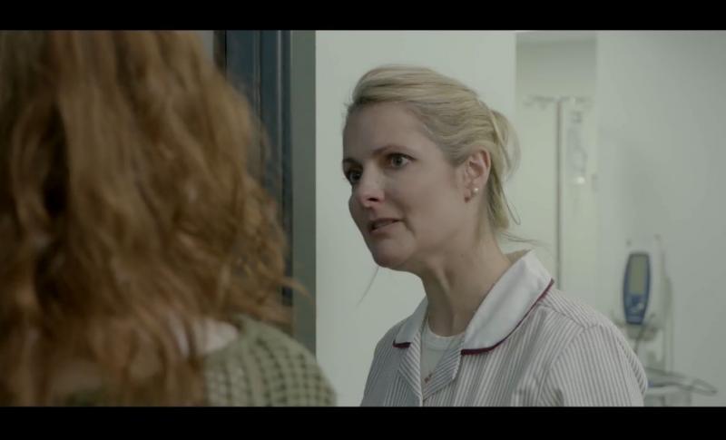 "Nurse in ""Ginger"", Edinburgh Napier University short film still"