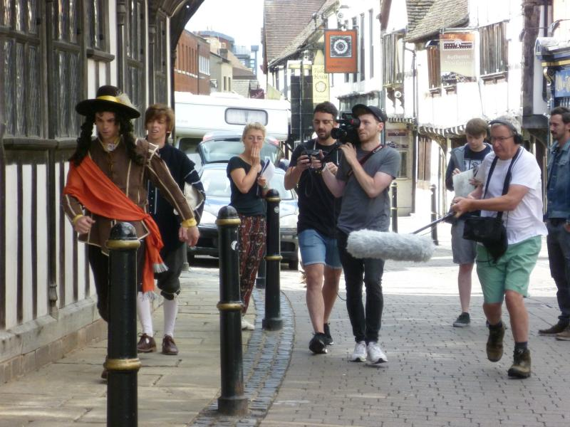 """Battle of Worcester"" - on the run with King Charles"