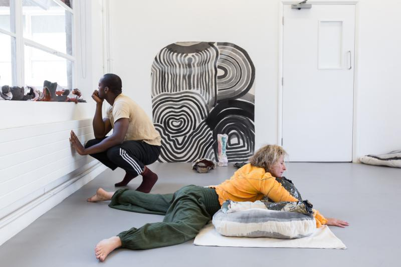 Zoe Kreye, Make Our Own Air. Commissioned by SPACE, London.