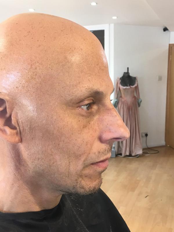 Melanie Ayres - Bald Caps