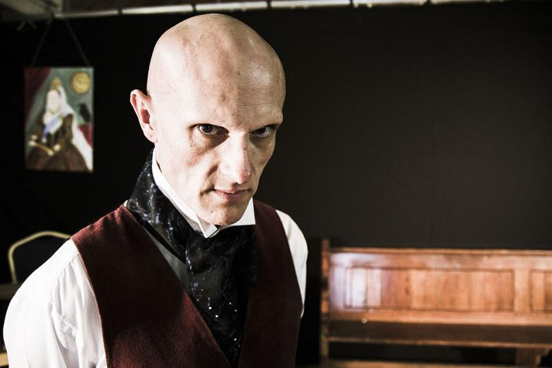 Still from stage play 'Jack The Ripper'.