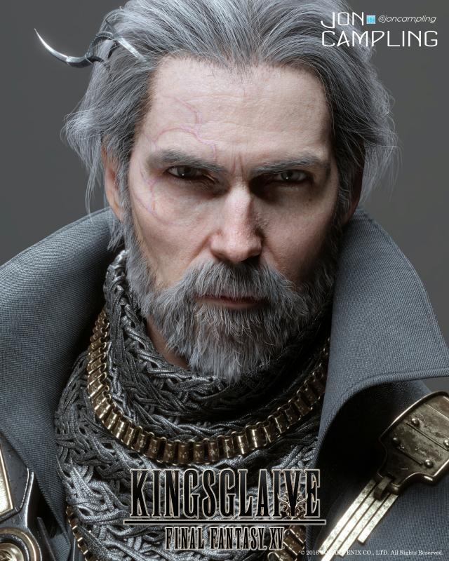 As KING REGIS In FFXV Kingsglaive