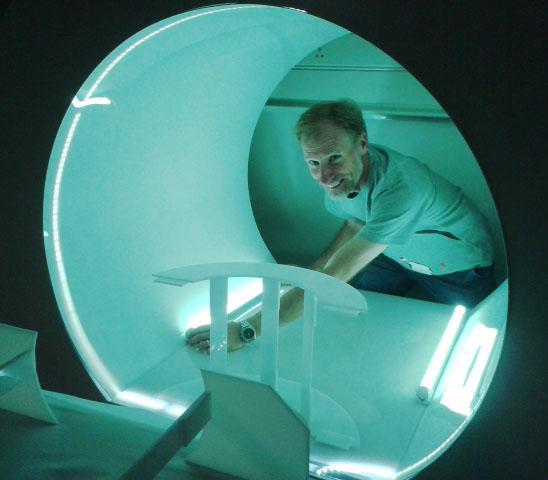 Brain scanner (fake!)
