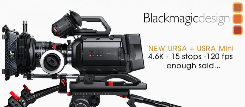 Our Black Magic 4.6K Video Camera