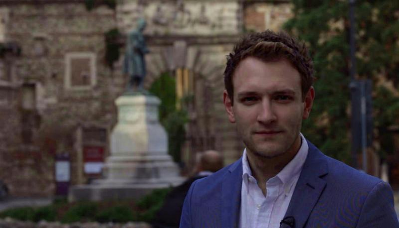 Derek Gibbons for TJC TV in Vicenza, Italy