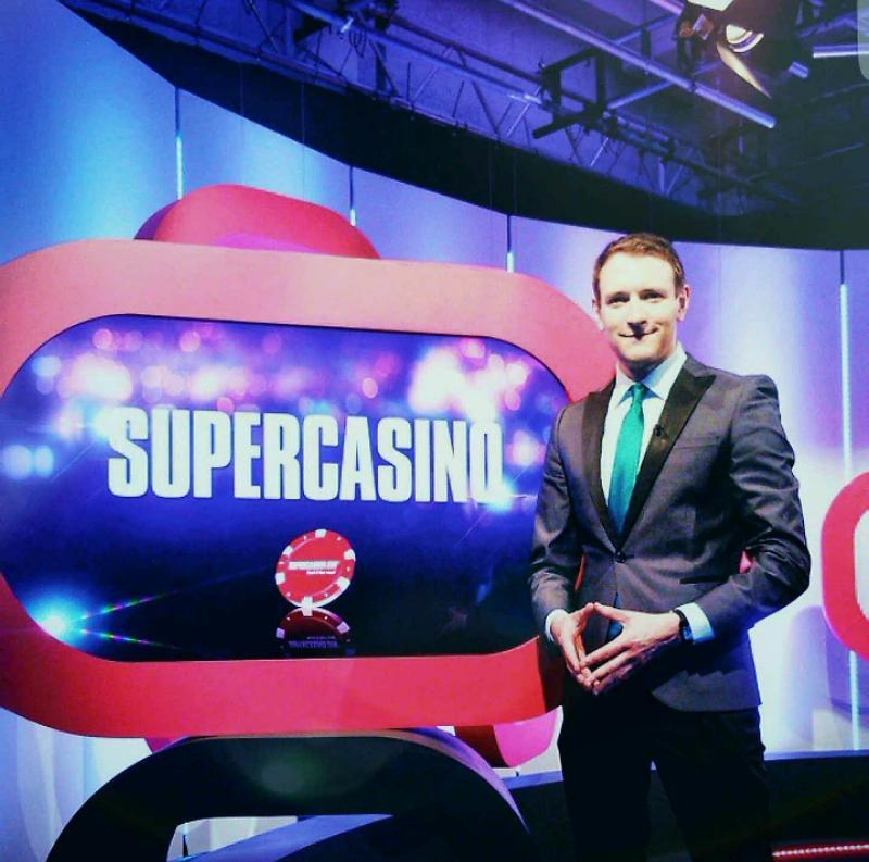 Derek Gibbons - TV Presenter - Channel 5 Late Night Programming