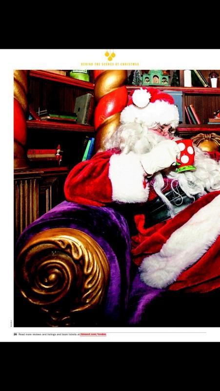 Santa - DreamWorks- Time Out