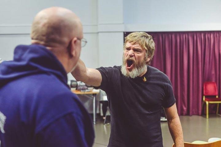 Unspoken Rehearsals anger