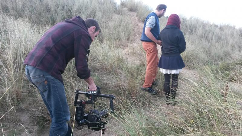 The dunes at Hayle, for A Story For Happy