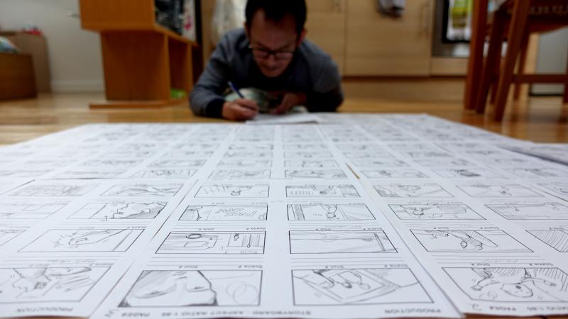 Storyboards by the director 2017
