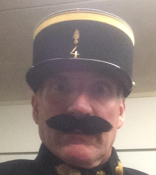 As Crabtree in Allo Allo