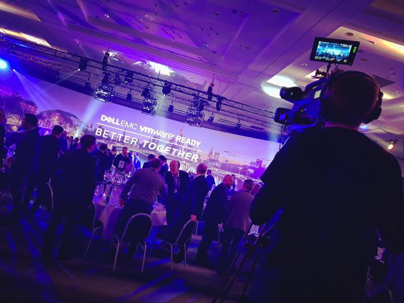 Camera Operating for Dell EMC Conference