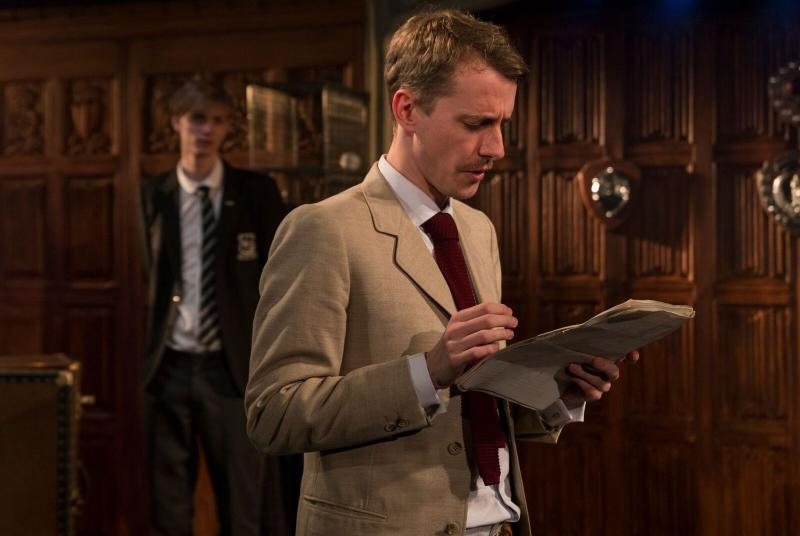As Eric Ashley in 'LORD DISMISS US', Above The Stag Theatre, 2017