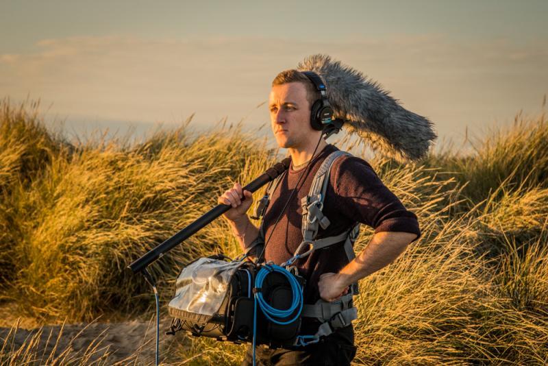 Recording for short drama 'Tides'
