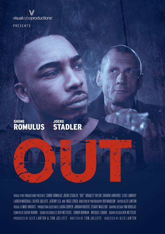 'Out' Film poster. (Writer/Producer).