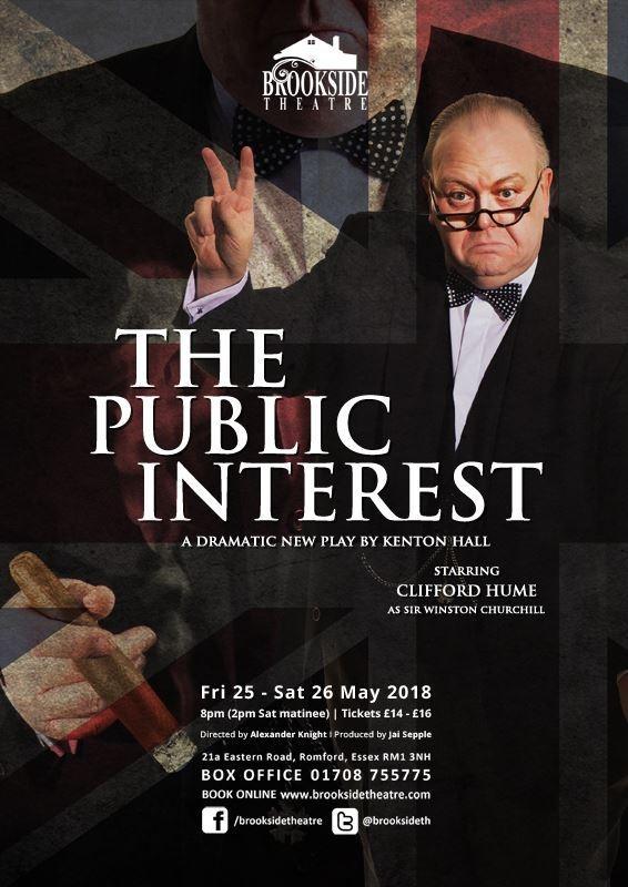 The Public Interest publicity poster