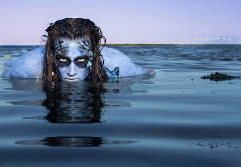 Sea Creature Photoshoot