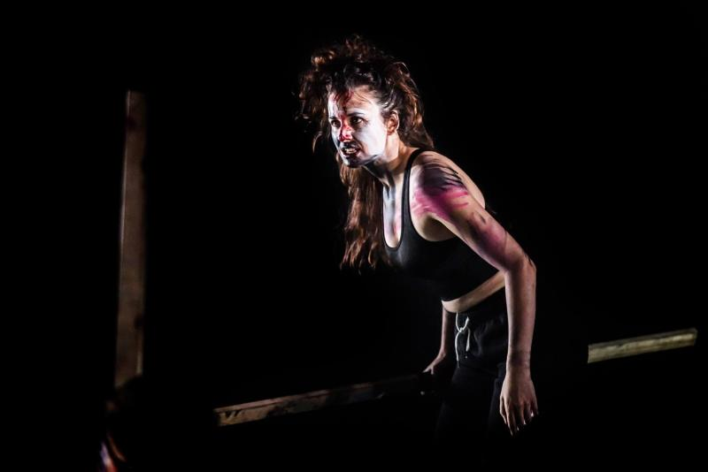 Roger in 'Lord of the Flies', Lazarus Theatre Company, Greenwich Theatre