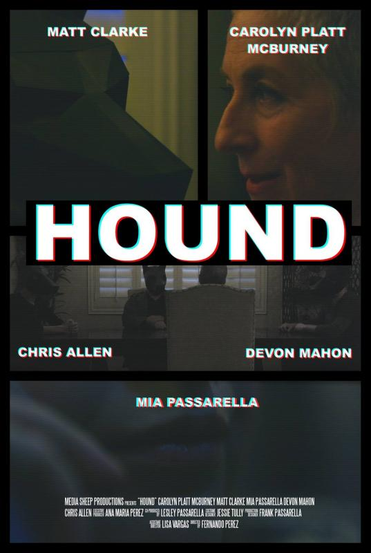 "Poster for ""Hound"" directed by Fernando Perez"