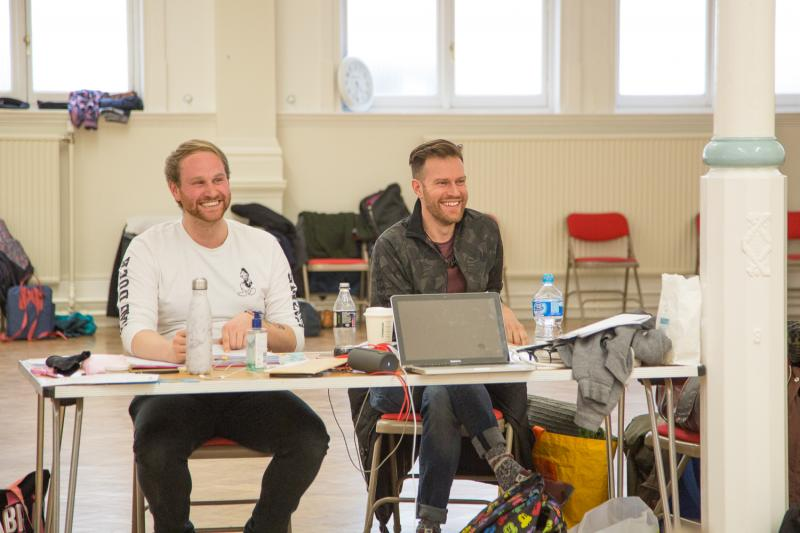 The Country Wife Rehearsals (with Stewart Charlesworth)