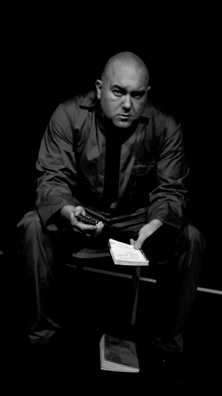 Al Carretta as Colonel Bracco (The Madness of Tellaralette Seville, EdFringe 2014)