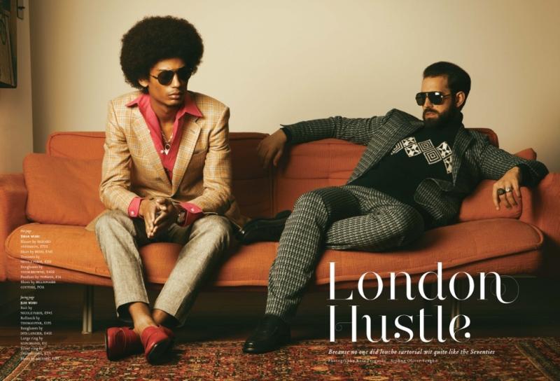 Phoenix Magazine Editorial - London Hustle