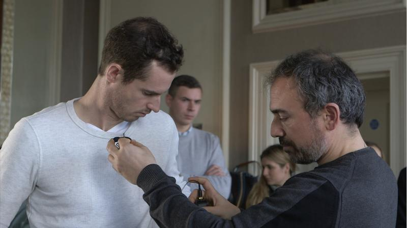 Behind the scenes with Andy Murray 1