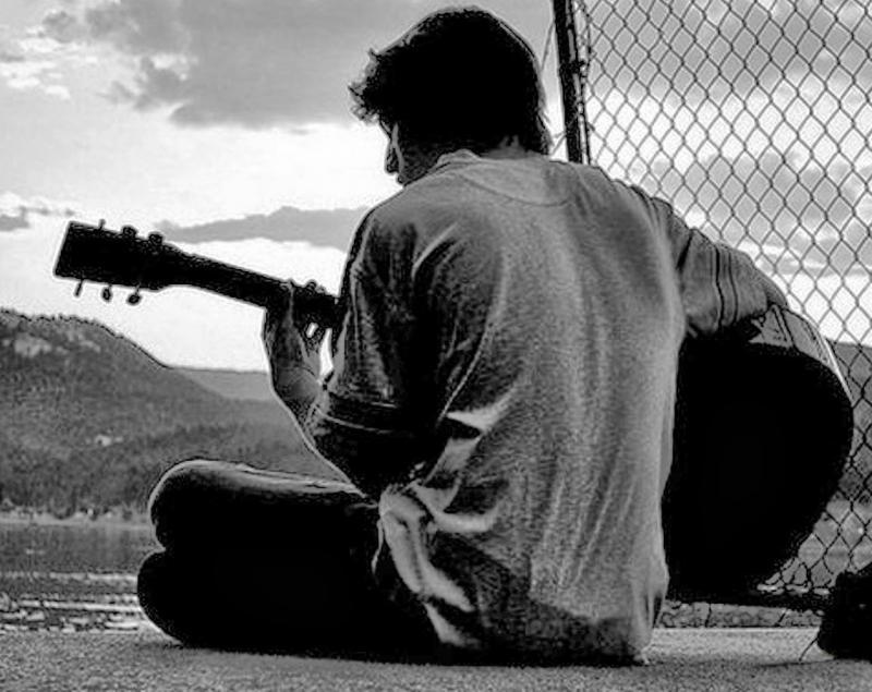 Myself on the guitar