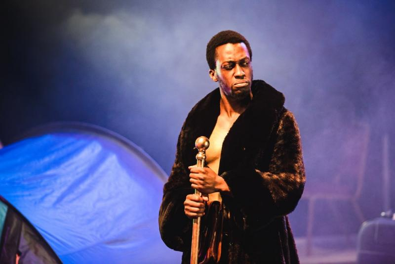 Oberon in A Midsummer Night Dream production