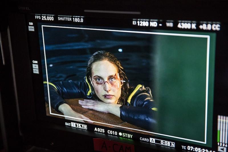 Waterproof Bloods/ Makeup on Michelle Farenhiem in 'Rueful Warrior'
